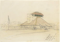 The Residency, Bharatpur (Rajputana). 4 December 1868